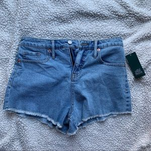 Target wild fable denim jean shorts size 6 NWT